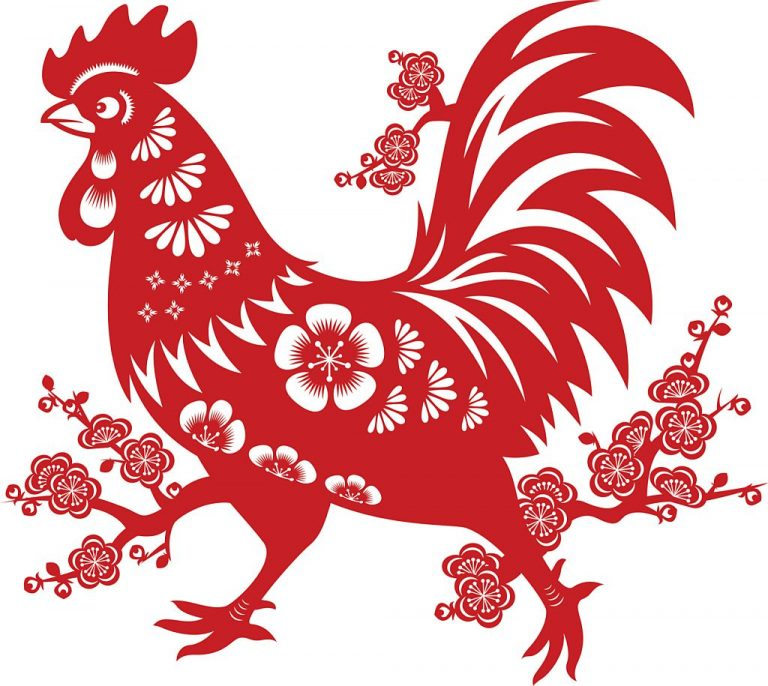 El Gallo de fuego en industria de la fruta