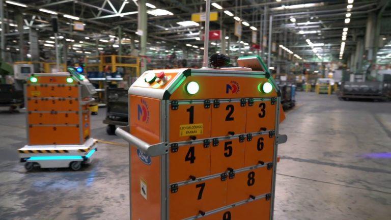 Robotización logística y el nuevo futuro industrial