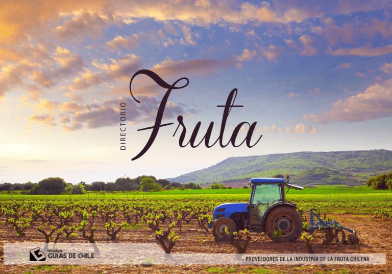 Actualizado directorio comercial incluye autoregistro de productores frutícolas chilenos