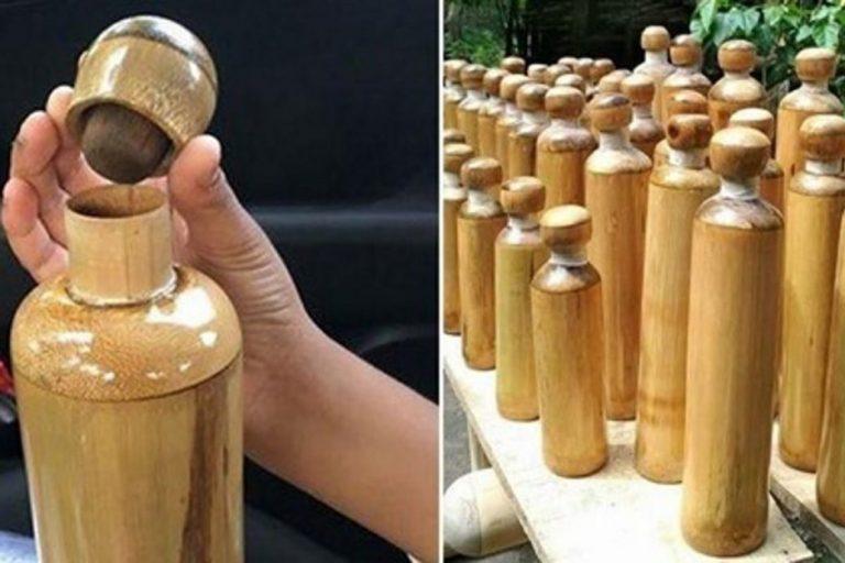 Botellas de bambú gratis, iniciativa para luchar contra el plástico